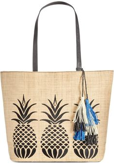 VIDA Foldaway Tote - Fruit And Flowers by VIDA