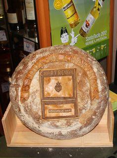 Un pain Poilâne dédié à la cuvée 2012 des fous de Chartreuse.