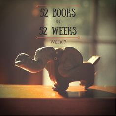 This week's 52 Books in 52 Weeks cover recreation of Something to Hide by Deborah Moggach took a lot of creative flair, and features my little dachshund USB stick dressed up (with Blu-Tack) to look like an elephant.