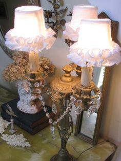 Vintage Table Chandelier