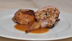 Roasted Stuffed Quail for Two with Madeira Sauce - Rice Recipes | Anson Mills…