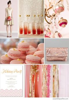 Party Inspiration: A Perfectly Pink Holiday | Flights of Fancy