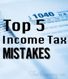Avoid These 5 Mistakes To Maximize Your Irs Tax Refund Tax Refund Income Tax Saving Tips