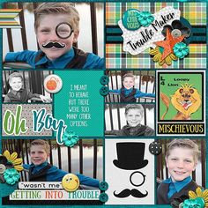 My Kids : Are Mischievous by Amanda Yi & Meghan Mullens: http://www.sweetshoppedesigns.com/sweetshoppe/product.php?productid=32394&cat=781&page=5 Template by Miss Mel Designs​