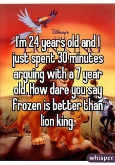 What is your opinion on this? Personally I like lion king better but I guess I'm just such an animal person! ❤️