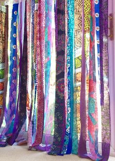 Gypsy Curtains Boho Curtain Hippie Room-Dorm Decor Glamping