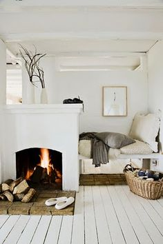 i WANT to live here.  (don't miss the knitting basket)