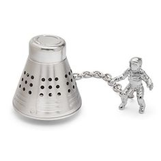 This tea infuser looks like a space capsule. Fill it with loose-leaf tea and drop it to the bottom of your mug. Celebrate another successful mission with a cup of warm tea!