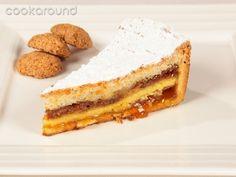 Torta con amaretti e marmellata: Ricette Dolci | Cookaround