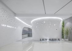 Two fresh and sophisticated takes on the traditional nail salon experience suggest it's time to sit down, relax and stay awhile  (Pictured here: Lily Nails, Beijing; Photography: Jin Wei-Qi, China; more: http://www.vmsd.com/content/parlor-games)
