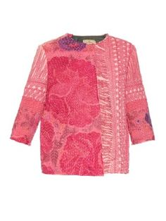 Vintage embroidered piano-shawl silk jacket | By Walid | MATCHESFASHION.COM UK