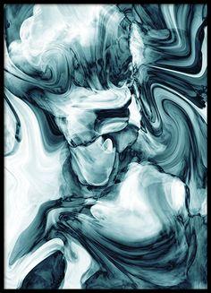 Emerald fade, print - 30x40Inhale-Exhale, print - 50x70Petrol marble, poster - 30x40...