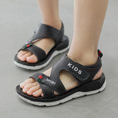 Cheap Sandals, Kids Sandals, Kids Fashion Boy, New Fashion, Sandals 2018, Childrens Shoes, Kids Boys, Leather Sandals, Casual