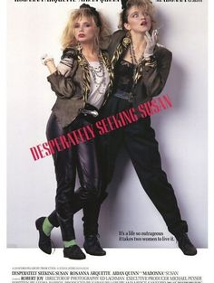 Desperately Seeking Susan is clearly not an Oscar winner but it's oh so 80s, from the music to the fashion that you can't help but love it. Great movie for those rainy day couch potato days. Get into the groove!