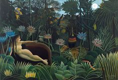The Dream by Henri Rousseau from Museum of Modern Art, New York
