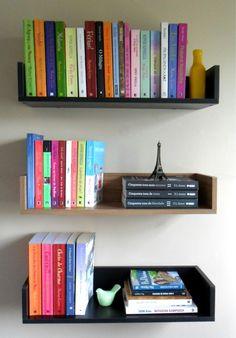 Top 8 Brilliant DIY Wall Shelves to Beautify Your Home Custom Bookshelves, Bookshelves In Bedroom, Bookshelf Plans, Decorating Bookshelves, Bookshelf Design, Home Office Decor, Unique Home Decor, Diy Wall Shelves, Do It Yourself Home