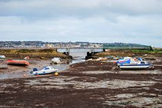Harbour at Cockwood, near Starcross, Devon.  #tw  -  Paul Hutchinson - Google+