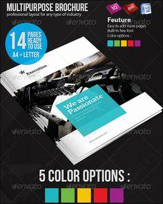 100 free brochure templates design print brochures online 100 free premium multipurpose business brochure designs cheaphphosting Gallery