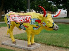Monopoly cow