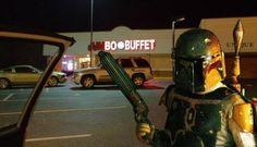 Lucas needs to make this happen... Star Wars themed buffet restaurants.