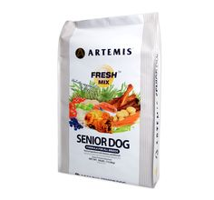 Artemis Fresh Mix Senior - 13.6 Kg. The Artemis Fresh Mix Senior food has been formulated to suit the nutritional requirement of all your senior dogs, which are generally above seven years old.