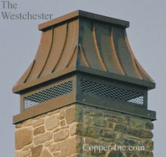 Signature Series Westchester Copper Chimney Cap