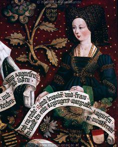 Hans Part and others | Babenberg Family Tree, triptych (Babenberger Stammbaum), painted 1489-1492 . Обсуждение на LiveInternet - Российский Сервис Онлайн-Дневников