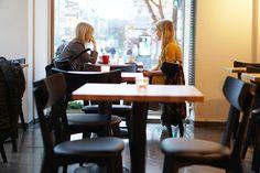 Tampere: Tampereen keskustassa  kahvila Pella's Cafe.