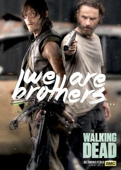 """#TWD Rick to Daryl: """"You are my brother"""""""