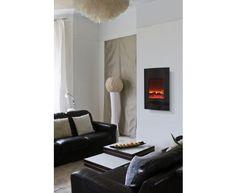 "21"" x 34"" Convex Electric Fireplace"