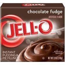 JELL-O Jello Instant Pudding and Pie Filling 4 Boxes (Chocolate Fudge) - http://bestchocolateshop.com/jell-o-jello-instant-pudding-and-pie-filling-4-boxes-chocolate-fudge/