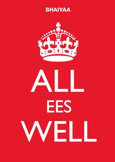 All Ees Well Poster on Imposters | Imposters.in | Buy Posters Online