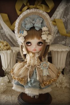 cute little bonnet :) outfit design by by Milk Tea