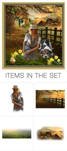 """Girl's Best Friend"" by pinkinkbydesign ❤ liked on Polyvore featuring art and beagle dog"