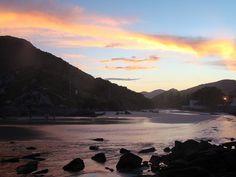Armação beach, Florianópolis, SC, Brazil