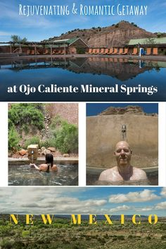 Looking for the perfect place to relax your tired body and mind? Searching for a romantic retreat to spend some alone time with your partner? Soak in the healing waters of Ojo Caliente Mineral Springs Resort & Spa in New Mexico. This enchanting place between Santa Fe and Taos is a can't-miss vacation destination. via @trailingaway