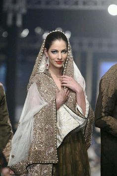 Here we have a collection of 20 Best Bridal Dresses by HSY. Check these amazing dresses and choose a best one for yourself. Pakistani Wedding Dresses, Pakistani Bridal, Indian Bridal, Indian Dresses, Indian Outfits, Bridal Dresses, Ethnic Outfits, Indian Attire, Indian Wear