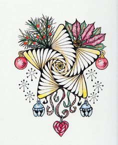 Christmas star by Marie English