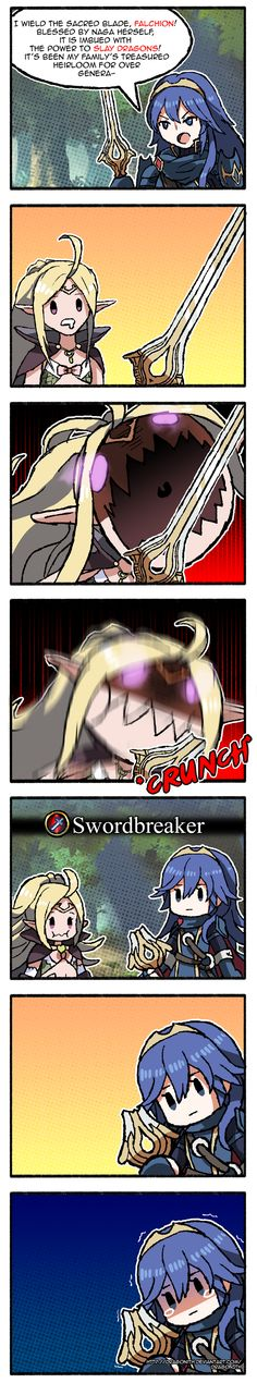 FE Heroes: The Divine Falchion Comic by Dragonith