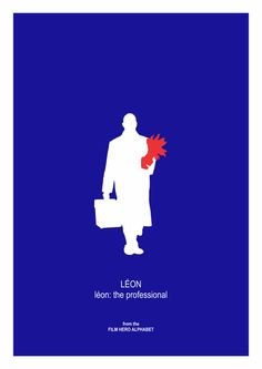 Léon: The Professional Movie Print Poster Luc by thefilmfreak