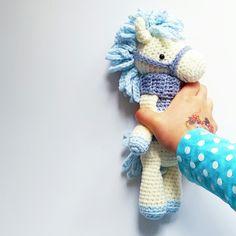 Amalou.Designs Amigurumi crochet Pattern Pony Horse Charlie