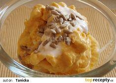 Osvěžující dýňová zmrzlina recept - TopRecepty.cz Mashed Potatoes, Macaroni And Cheese, Ethnic Recipes, Food, Whipped Potatoes, Mac And Cheese, Smash Potatoes, Essen, Meals