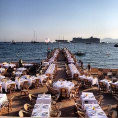 Ponton de l'InterContinental Carlton Cannes by nypsfla • Instagram