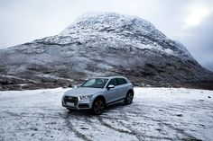With an #AudiQ5 it is very easy to defy the weather.