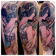 mucha tattoo - Google Search