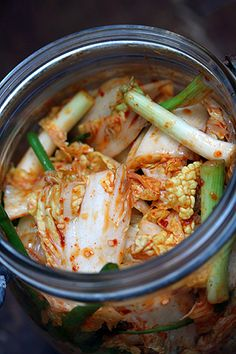 Kimchi - David Lebovitz.  A fast one to make but I need a trip to the Asian market for supplies again.