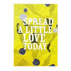 A5-print LOVE decorate your wall with prints