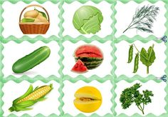 Rubrics, Fruits And Vegetables, Puzzle, Stuffed Peppers, Canning, How To Make, Food, Printable Tags, Fruits And Veggies