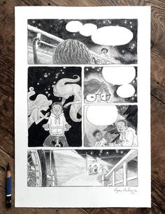 Ryan Andrews Comics — 2 new pages finished for This Was Our Pact!  Drawn...