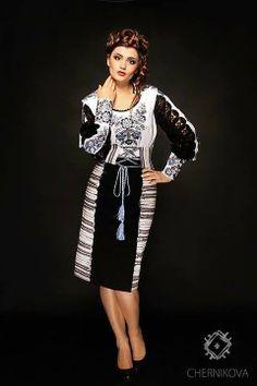 Ukrainian dress so pretty Folk Fashion, Ethnic Fashion, African Fashion, Ukrainian Dress, Traditional Outfits, Ukraine, Fashion Outfits, Fashion 2014, My Style